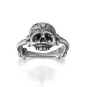 Memento Mori Ring - Silver