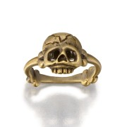 Memento Mori Skull and Bones Ring