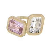 Clemence Ring - Kunzite