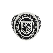 No Class Ring - Silver, Manhattan Style