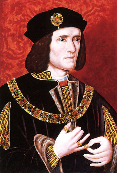 A late 16th-century portrait of Richard III from the National Portrait Gallery in London.